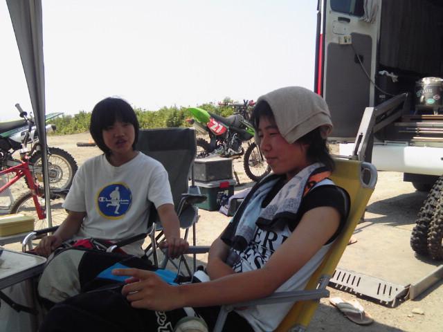暑い九州です
